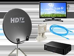 Tv, Satelliet & Internet