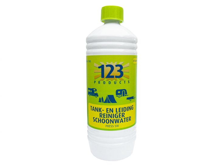 123 Products schoonwatertank- en leidingreiniger