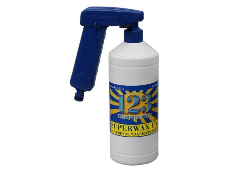 123 Products UV superwax met sprayer