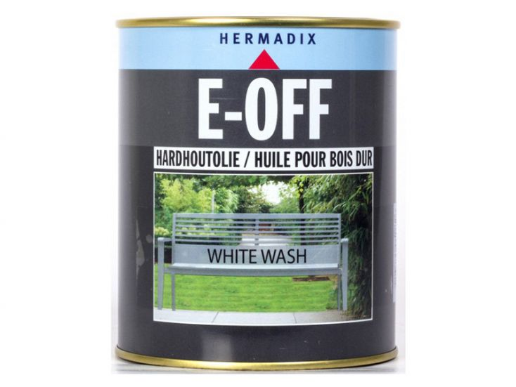 Hermadix E-off white wash hardhoutolie