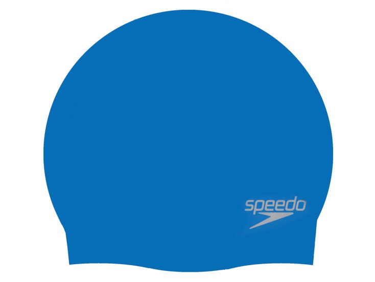 Speedo Plain Moulded Silicone badmuts