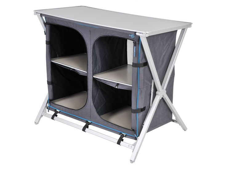 Bo-Camp Easy-to-fold Solid Deluxe kast