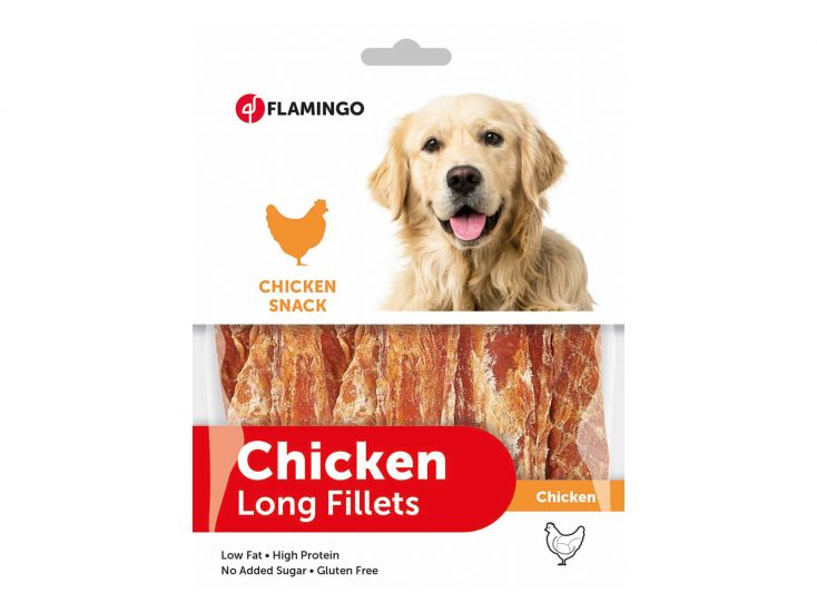 Flamingo Chicken Long Fillets hondensnack