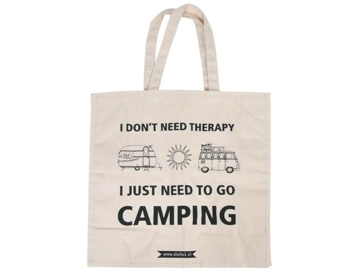 Obelink I don't need therapy canvas tas