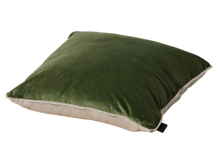 Madison Panama velvet Army Green sierkussen