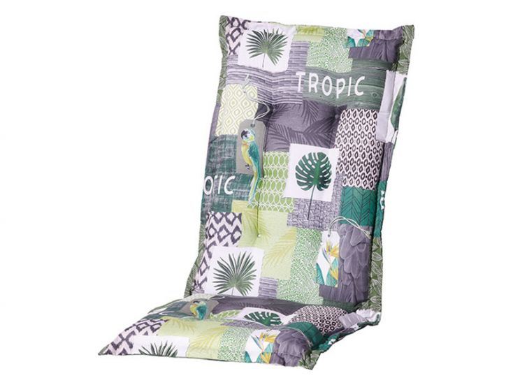 Madison Tropic Green hoge rug tuinkussen