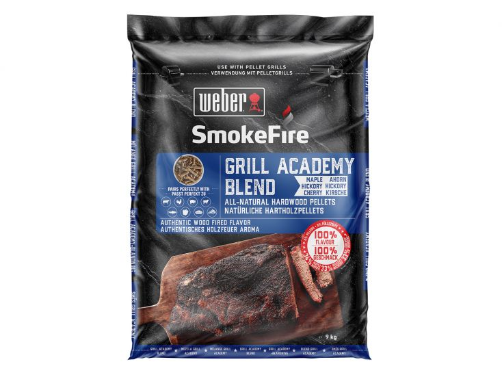 Weber grill academy blend barbecue houtpellets