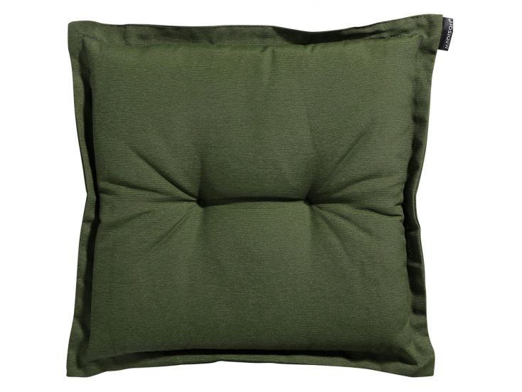 Madison Panama green hocker kussen