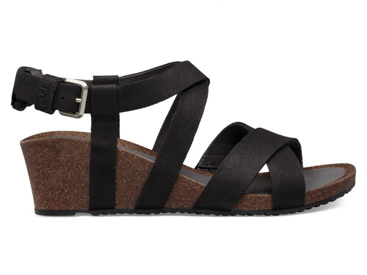 Teva Mahonia Wedge Cross Strap sandalen