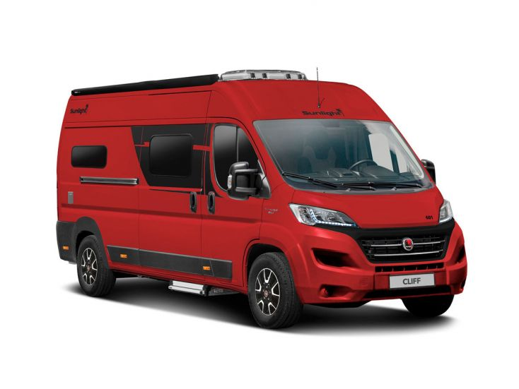 Sunlight Cliff 600 Special Edition camper