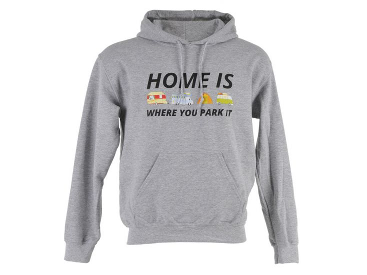 Obelink Home is where you park it hoodie