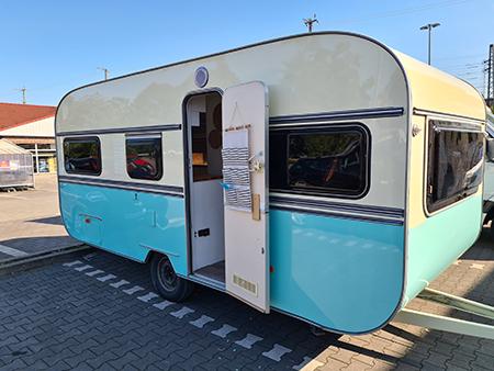 Caravan opknappen